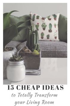 Affordable ways to makeover your living room. Love these ideas for transforming … Affordable ways to makeover your living room. Love these ideas for transforming your living room on a budget. Cheap Living Room Sets, Living Room Decor On A Budget, Living Room Remodel, Living Room Designs, Living Room Furniture, Living Rooms, Kitchen Remodel, Bathroom Furniture, Trendy Home Decor