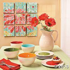 Card by Lesley using Joyful Blooms from Verve.  #vervestamps