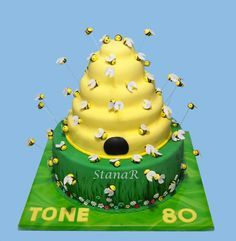 how to make beehive cake - Google Search