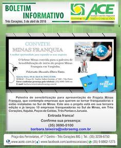 Folha do Sul - Blog do Paulão no ar desde 15/4/2012: TRÊS CORAÇÕES: BOLETIM ACE - SEBRAE