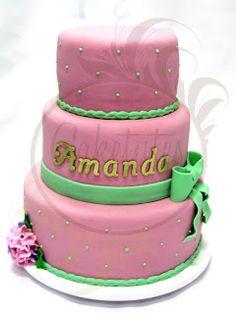 Caketutes Cake Designer: Bolo Hortênsia - Hydrangea Cake