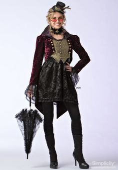 Jacket (and top hat?) for femme Mad Hatter cosplay.