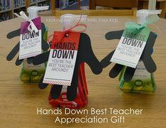 Making Memories ... One Fun Thing After Another: Hands Down Best Teacher {Teacher Appreciation Gift}