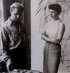 Willem and Elaine de Kooning