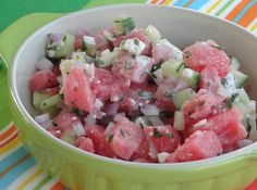 Now's the time to take advantage of the great supply of cucumbers and watermelon…