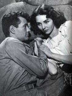 Robert Walker and Jennifer Jones