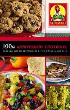 FREE Sun-Maid 100th Anniversary Cookbook!