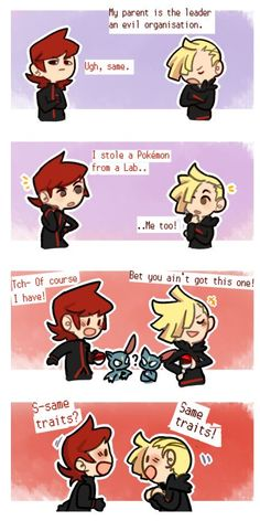 Silver and Gladion the to hottest pokemon guys ! Pokemon Manga, Pokemon Comics, Pokemon Memes, My Pokemon, Cool Pokemon, Anime Manga, Pokemon Stuff, Pokemon Waifu, Pokemon Eeveelutions