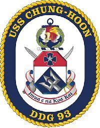USS Chung-Hoon DDG 93