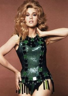 Oh Jane Fonda. This outfit is amazing.