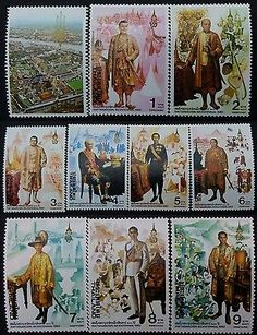 Thailand Beautiful Stamp Never & Light Hinged Set Collection #063