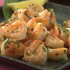 When cooking fresh shrimp, the ingredients used only need to be few and light.  Sizzled Citrus Shrimp brings out the natural flavor in shrimp with light lemon marinade.