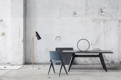 Sanna Luhaniemi / Himmee + Poiat Led Lamp, Stylists, Dining Table, Interior Design, Furniture, Home Decor, Nest Design, Dining Room Table, Decoration Home