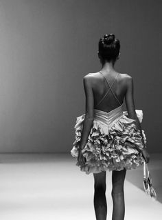 The frills make the dress