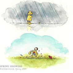 Spring Showers by Breezy Brookshire #breezytulipstudio
