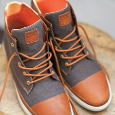 Chambers Canvas Shoe Chestnut