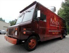 Vehicle Wrap | Asada Food Truck...this wrap is sizzlin'! #foodtrucknation #foodtruckwrap
