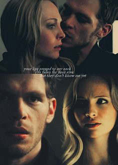 Klaroline ♥. Love watching vampire diaries. Please check out my website thanks. www.photopix.co.nz
