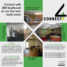 Volunteer with IIDA Southwest Chapter at their AWEsome Connect 4 event on 3/2! Help make over apartments for U.S. VETS! RSVP to connect4.PHX.iidasw@gmail.com