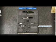 Benchmade Custom Knife Configurator would love to do this one day with the mini barrage.