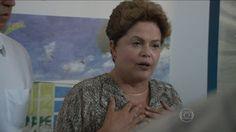 G1 - Invasão de crianças faz Dilma interromper ato de campanha no Rio - notícias em Eleições 2014 no Rio de Janeiro