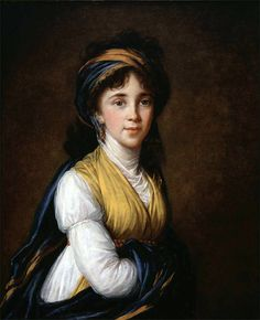 Portrait of Princess Belozersky (1798); Élisabeth Vigée Le Brun (1755–1842; French)