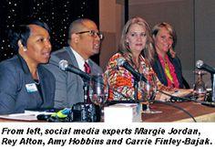 Social media panel with Carrie Finley-Bajak from Cruise Buzz