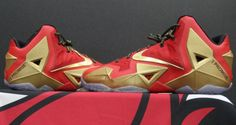 www.perfectkickz.com Nike LeBron XI (11) 'Championship' PE