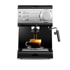Qinmo Iced coffee maker,Espresso Machine Home Small semi-Automatic Commercial steam Type Electric Grinder +20BAR high… From the Italian brand 20Bar pressure p... Iced Coffee Maker, Coffee Machines, No Cook Meals, Espresso Machine, Commercial, Electric, Kitchen Appliances, Diet, Type