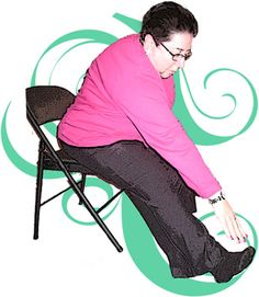 Chair Yoga for Parkinson's Disease Individuals. Pinned by SOS Inc. Resources.  Follow all our boards at http://Pinterest.com/sostherapy for therapy resources.