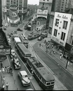 Vintage photo of Margaret Mitchell Square in Atlanta, #Georgia.