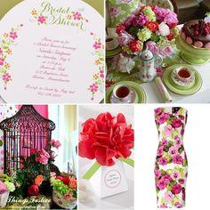 Tea Party Bridal Shower #wedding #bridalshower #teapartybridalshower