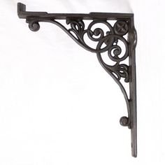 A really good quality pair of solid cast iron cistern brackets, ornately cast to both sides. Picture shows a single bracket, price is per pair(2), 1 pair available. £60.00