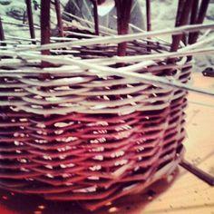 Corso di cesteria giorno 2 - Work in progress