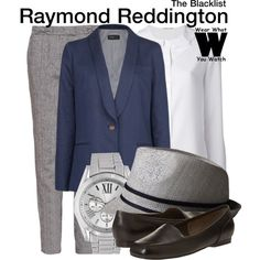 Inspired by James Spader as Raymond Reddington on The Blacklist.