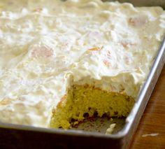 Weight Watcher's Sunshine Cake – Recipe Diaries Low Calorie Desserts, Ww Desserts, Healthy Desserts, Delicious Desserts, Dessert Recipes, Light Desserts, Calorie Diet, Dinner Recipes, Weight Watchers Cake