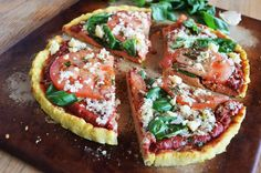 Easy to make, healthy, and amazing Coconut Flour Pizza Crust recipe. Great option for homemade gluten free pizza that is good for you!
