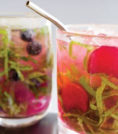 Rhubarbarella Cocktail Recipe