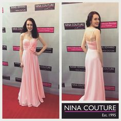 Congratulations on your gorgeous Nina Couture Designer Prom Dress. Was a pleasure helping you say YES to the dress. Rose Quartz Dress, Blush Dresses, Formal Dresses, Prom 2016, Designer Prom Dresses, Prom Girl, Yes To The Dress, Couture, Boutique