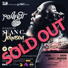 Cant wait till thursday thanks to @zionpromotion for the #soldout show in #birmingham for the night with @seancjohnson  with we have on the night music by @dj_haych  alongside performances by @attymusic and @shantehfuller the night being hosted by @dainaanderson #awakeningshow .  #Gospel #UKGospel #GospelNeo #GospelSoul #GospelRnB #Event #Concert #Neosoul