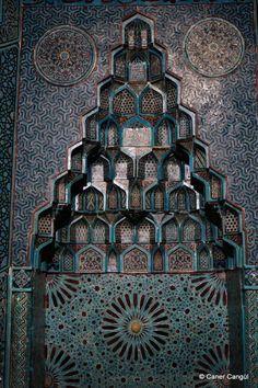 Eşrefoğlu Camii Mihrabı, Beyşehir   Caner Cangül Fotoğrafları