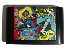Spiderman X Men Arcade's Revenge Sega Genesis 1994 by Retro8Games