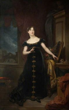 Miss Eliza O'Neill as Belvidera in Thomas Otway's 'Venice Preserved'. Date painted: 1816–1822