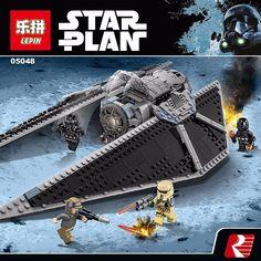 Star Series Wars TIE Striker Model Educational Building Blocks Bricks - Blocks