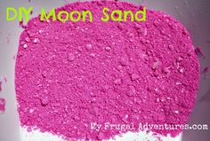 do it yourself moon sand. 2 cups Colored Sand (or plain play sand), 1 cup corn starch, and cup water -- mix together and VOILA. Crafts To Sell, Fun Crafts, Crafts For Kids, Arts And Crafts, Science Crafts, Craft Activities For Kids, Projects For Kids, Diy Moon Sand, Sands Recipe