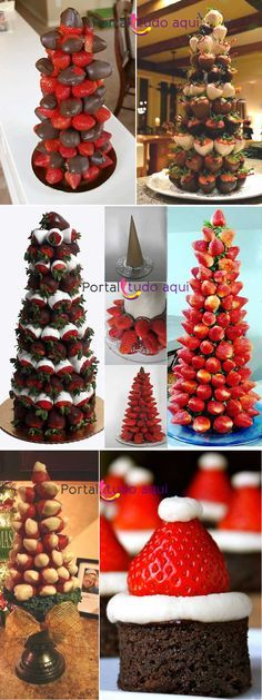 Christmas trees you can eat! Christmas Party Food, Xmas Food, Christmas Appetizers, Christmas Desserts, Christmas Treats, Christmas Cookies, Christmas Time, Christmas Decorations, Halloween Christmas