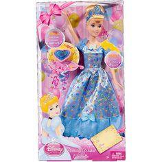DISNEY PRINCESS CINDERELLA Barbie HAPPY BIRTHDAY WISHES SINGING DOLL NEW!