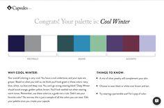 Cladwell capsule wardrobe. Cool Winter