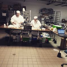 Day off? Nope! Ohio culinary team practice! This is crunch time!