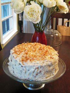Coconut Cream Cake | A Hint of Honey